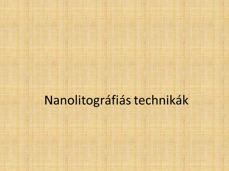 Nanolitográfiás technikák