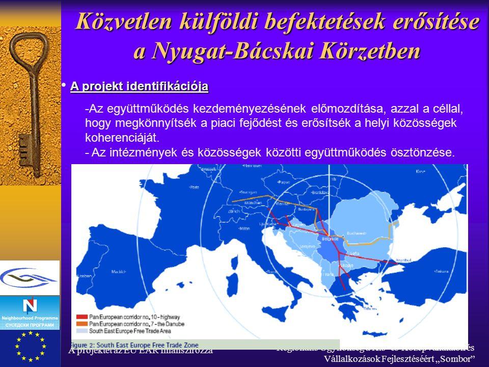 """A projektet az EU EAR finanszírozza Regionális Ügynökség a Kis- és Középvállalatok és Vállalkozások Fejlesztéséért """"Sombor Közvetlen külföldi befektetések erősítése a Nyugat-Bácskai Körzetben ☼ Az európai intézmények adatai szerint, Szerbiának van az európai térségben a legalacsonyabb adókulcsa a vállalatok nyereségét illetően, nominális értékét tekintve 10%."""