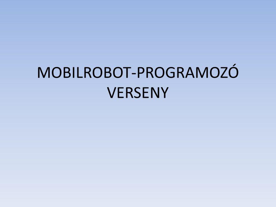 MOBILROBOT-PROGRAMOZÓ VERSENY