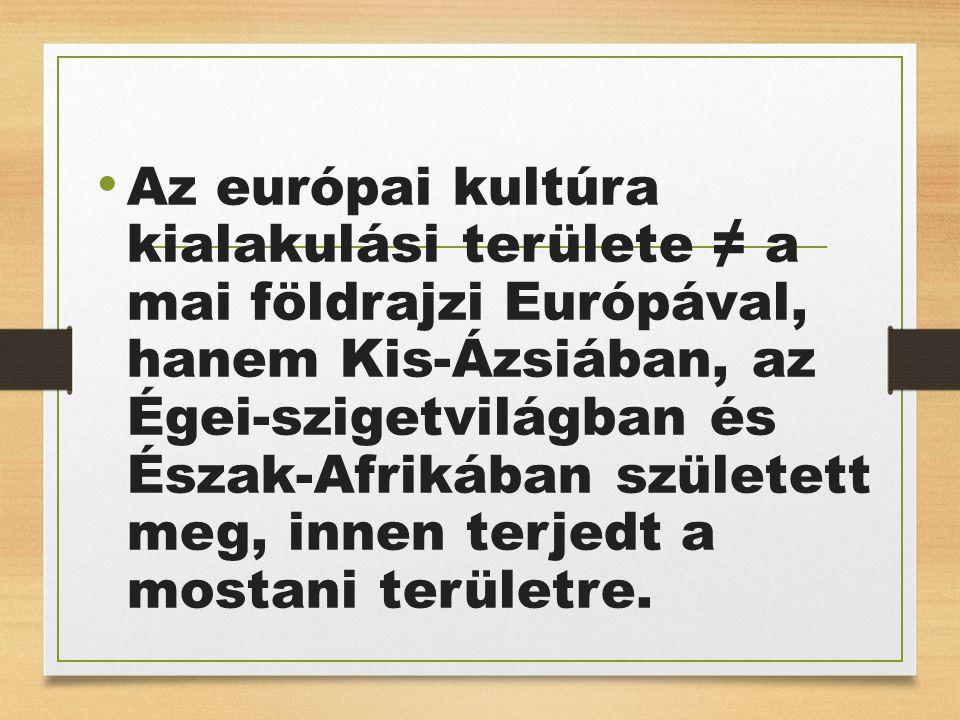 A görög törzsek a Kr.e.II.