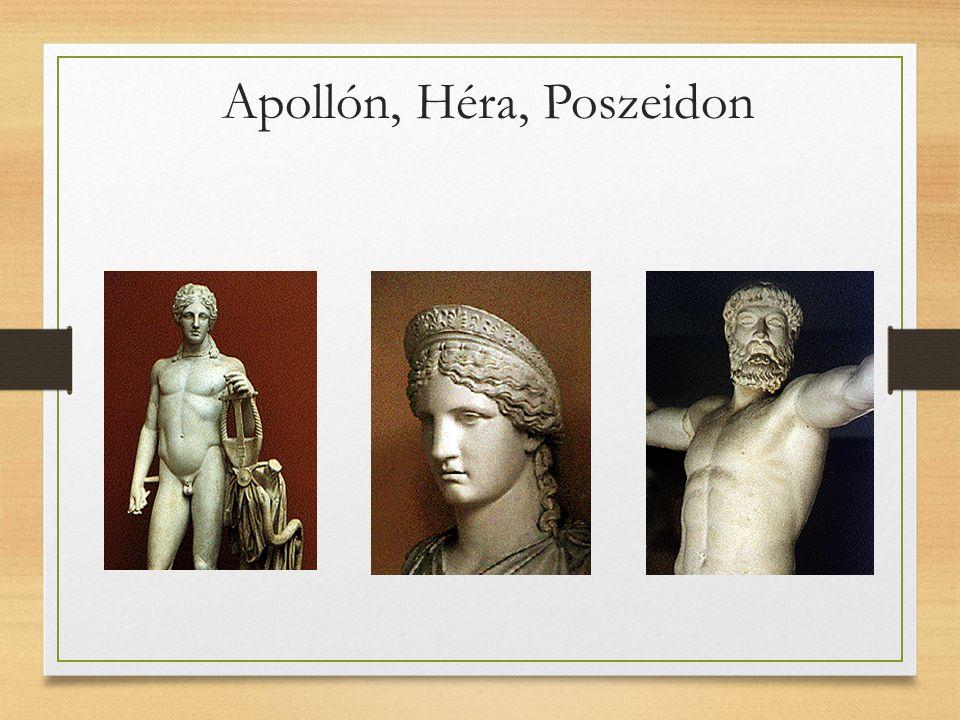 Apollón, Héra, Poszeidon