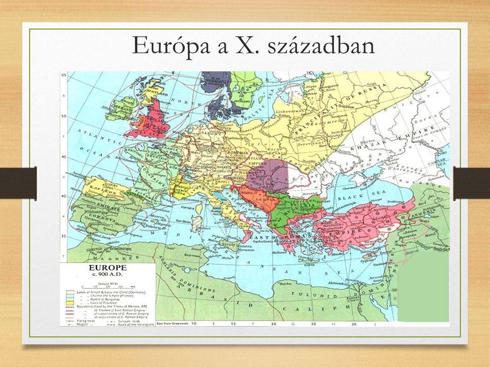 Európa a X. században