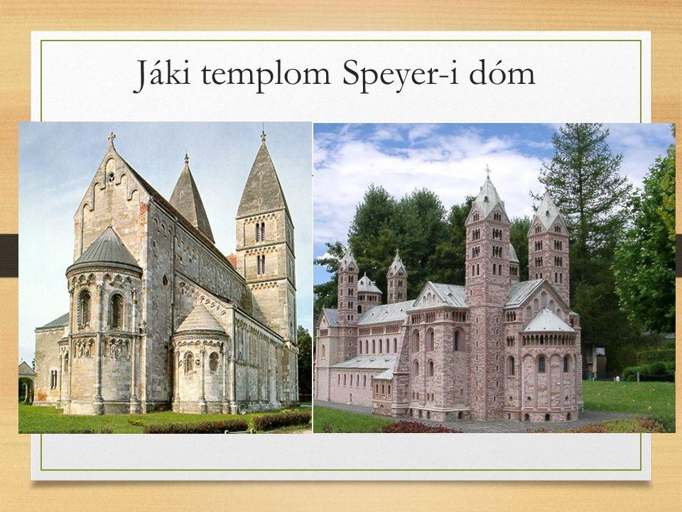 Jáki templom Speyer-i dóm