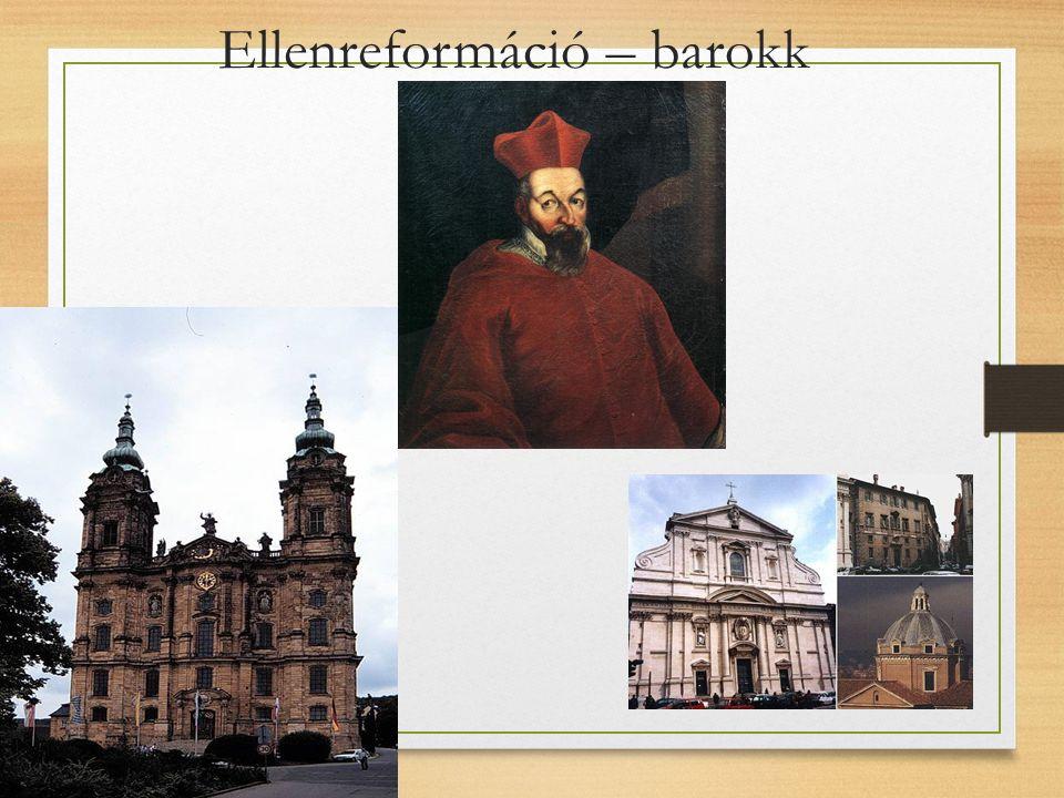 Ellenreformáció – barokk