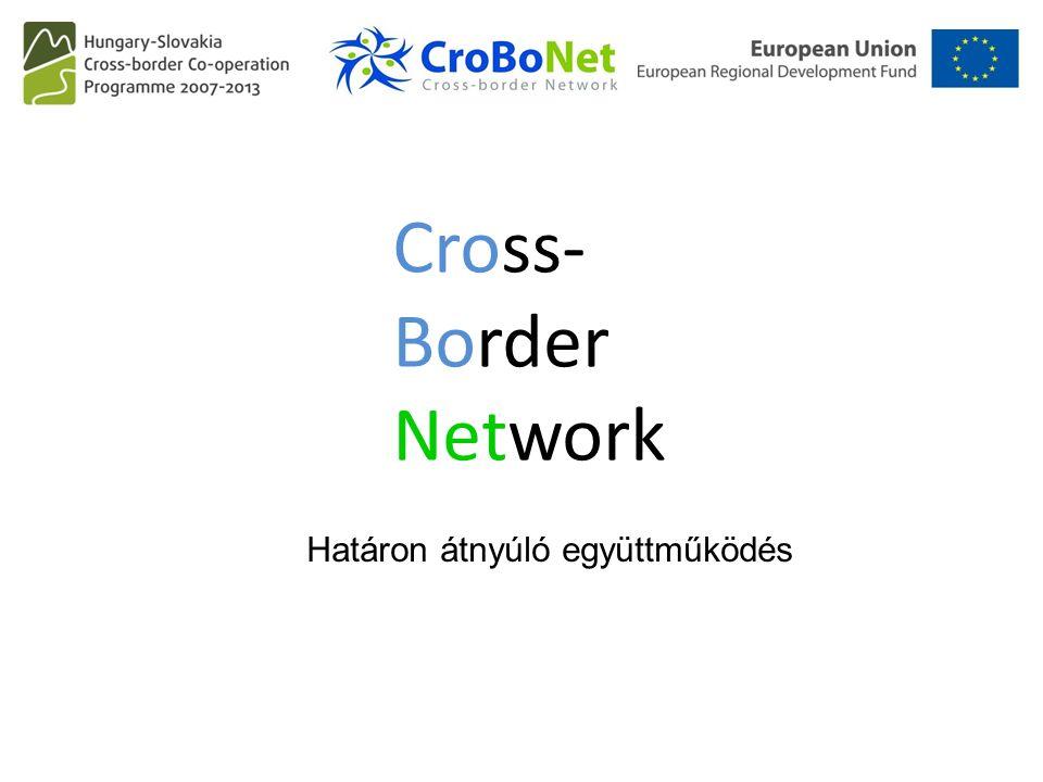 Cross- Border Network Határon átnyúló együttműködés
