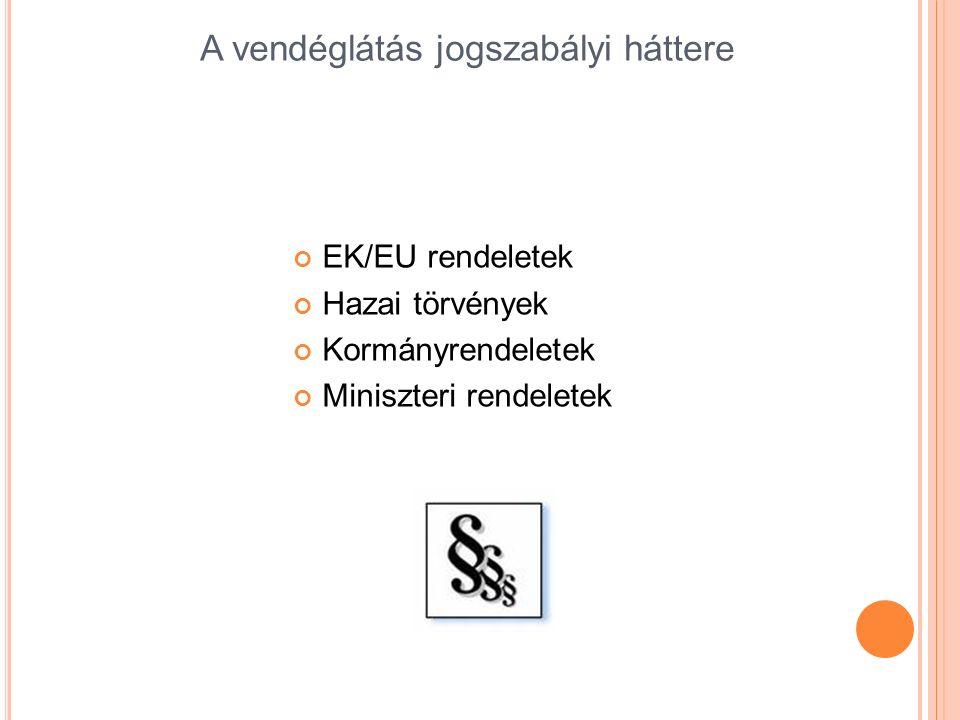 EK/EU rendeletek I.