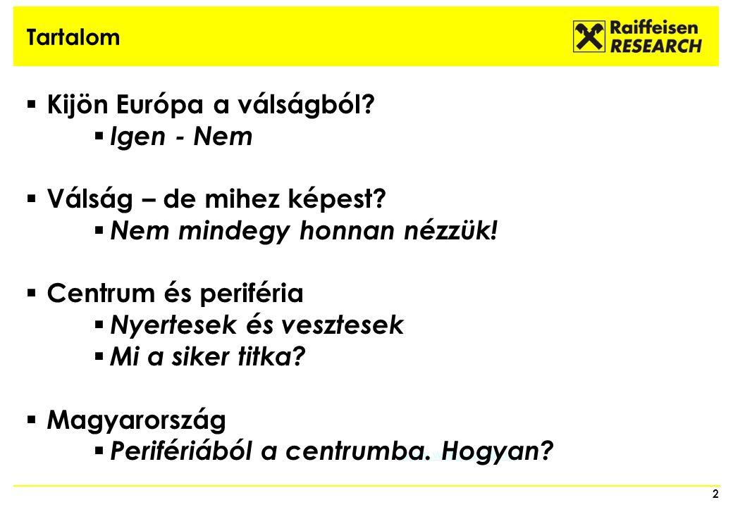 Tartalom 2 www.worpswede.de  Kijön Európa a válságból.