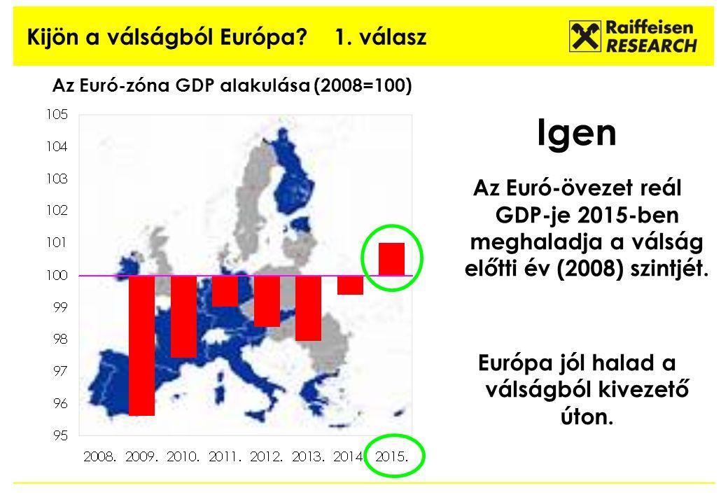 Kijön a válságból Európa. 1.