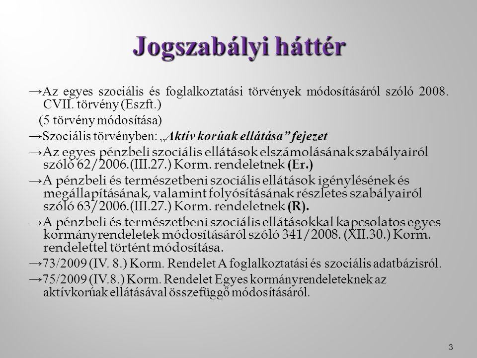 →Az egyes szociális és foglalkoztatási törvények módosításáról szóló 2008.