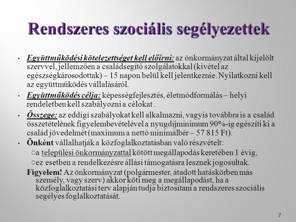 ●A helyi rendeletek sematikusak.