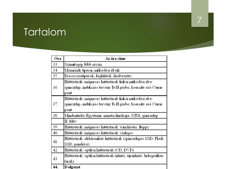 Operációs rendszerek kezelése 3. rendszerkezelés 58 Forrás: Vezérlőpult