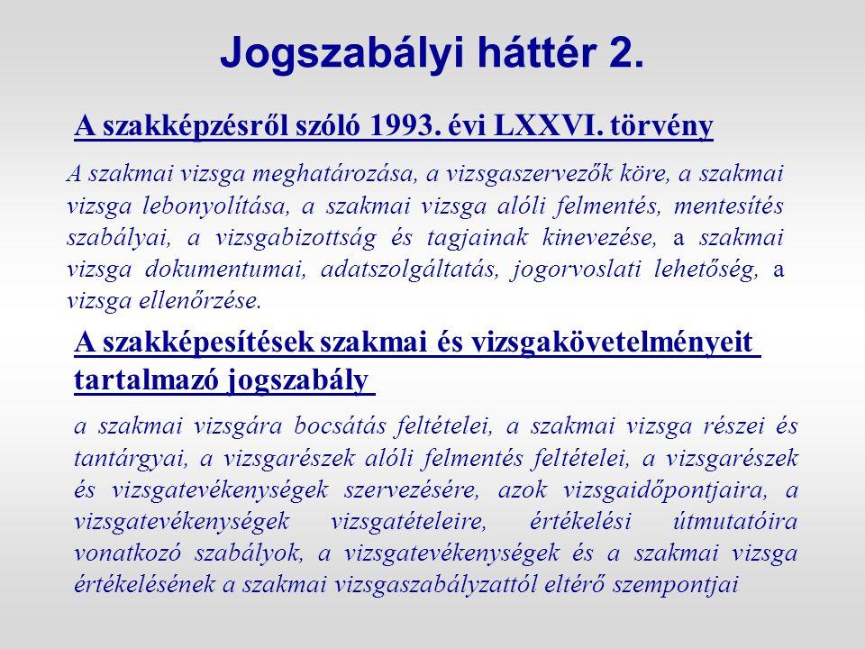 A VIZSGAELNÖK FELADATAI (2) Ha a szakképesítésért felelõs miniszter és az országos gazdasági kamara között létrejött megállapodás szerint az adott szakképesítések vizsgaelnökeinek kijelölését a kamara látja el, akkor a szakmai vizsga elõkészítésérõl szóló jelentést a szakképesítésért felelõs miniszter által – a honlapján mindenki által hozzáférhetõ módon – közzétett megállapodásban foglaltak szerint, az abban megjelölt helyre kell küldeni.