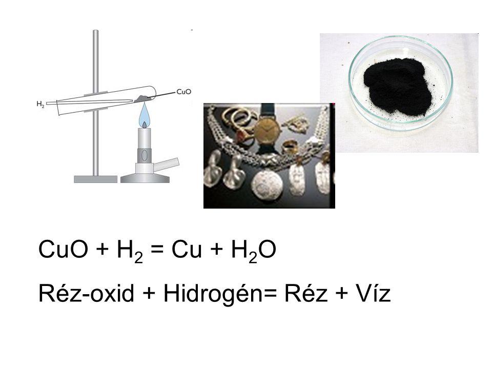 6.A hidrogén gáz és klór gáz hő vagy fény hatására robban – klór- durranó gáz.