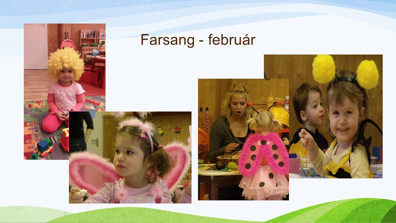Farsang - február