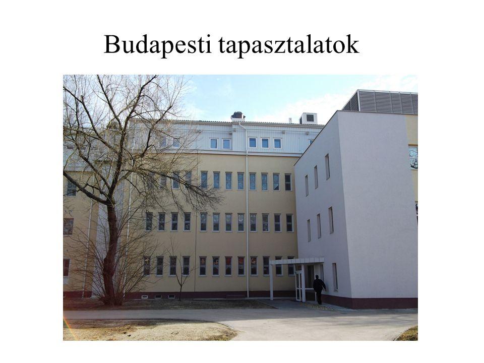 Budapesti tapasztalatok