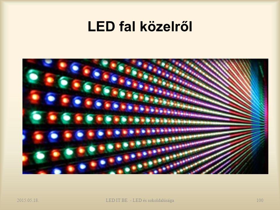 LED fal közelről 2015.05.18.LED IT BE - LED és sokoldalúsága100