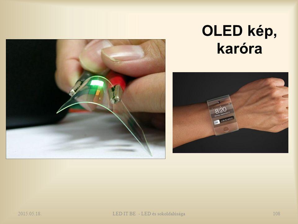 OLED kép, karóra 2015.05.18.LED IT BE - LED és sokoldalúsága108