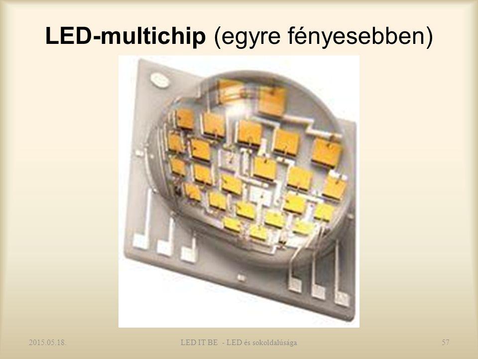 LED-multichip (egyre fényesebben) 2015.05.18.57LED IT BE - LED és sokoldalúsága
