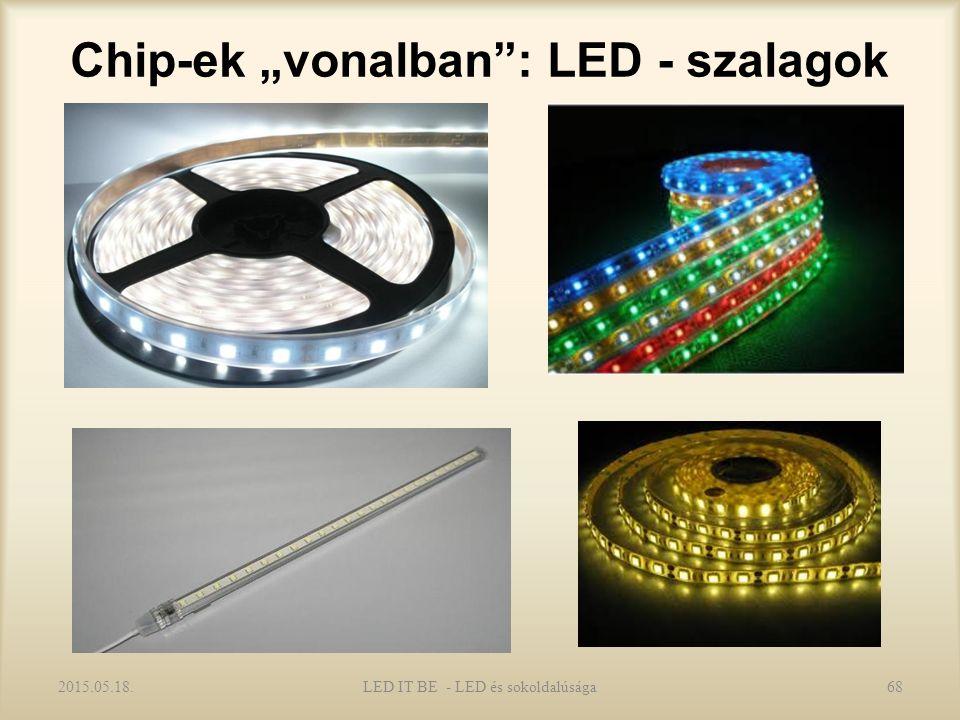 """Chip-ek """"vonalban : LED - szalagok 2015.05.18.LED IT BE - LED és sokoldalúsága68"""