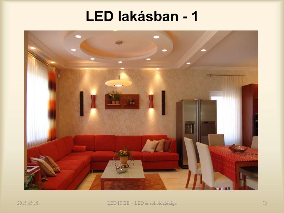 LED lakásban - 1 2015.05.18.70LED IT BE - LED és sokoldalúsága
