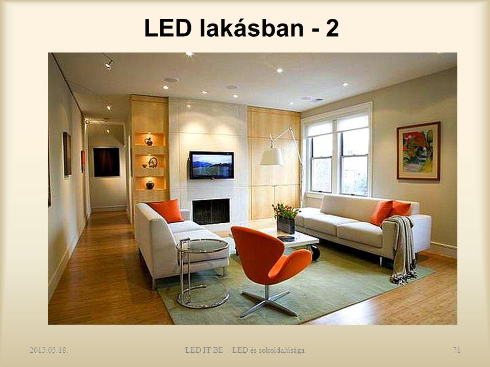 LED lakásban - 2 2015.05.18.LED IT BE - LED és sokoldalúsága71
