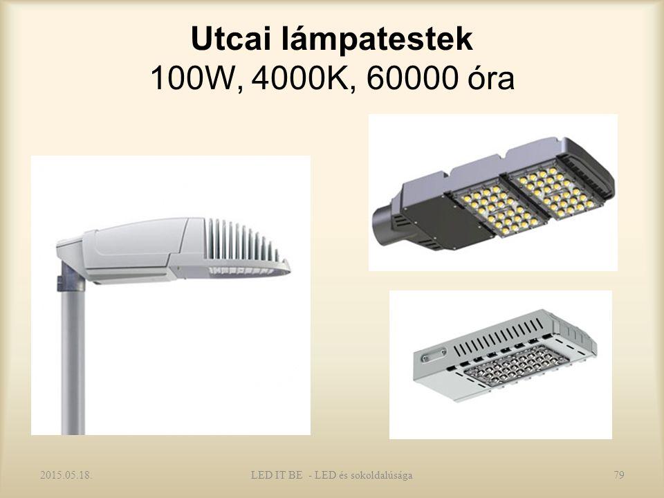 Utcai lámpatestek 100W, 4000K, 60000 óra 2015.05.18.LED IT BE - LED és sokoldalúsága79