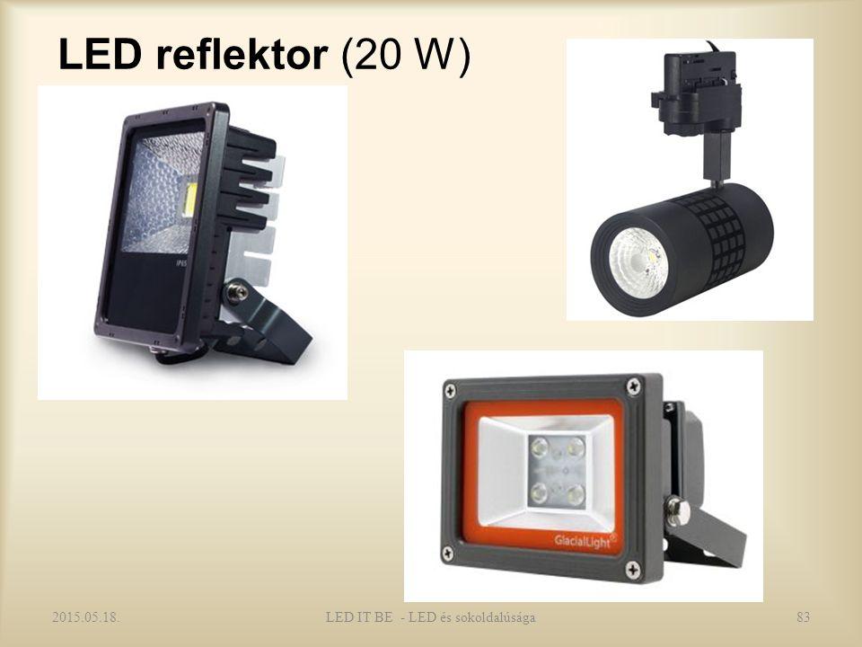 LED reflektor (20 W) 2015.05.18.LED IT BE - LED és sokoldalúsága83