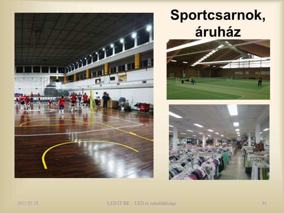 Sportcsarnok, áruház 2015.05.18.LED IT BE - LED és sokoldalúsága91