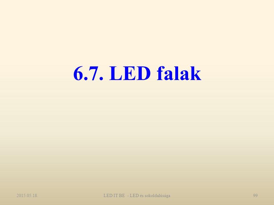 6.7. LED falak 2015.05.18.LED IT BE - LED és sokoldalúsága99