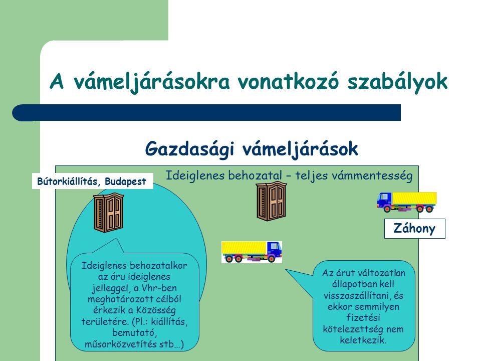 © Dézsi Zsolt Záhony fűrészáru Feldolgozás, Szeged feldolgozás A feldolgozást követően a készáru értéke után és annak vámtételével kerül megfizetésre a vámtartozás (és a nemzeti adók), így az már közösségi árunak minősül.