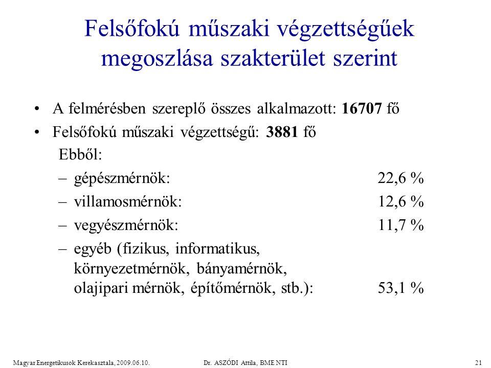 Magyar Energetikusok Kerekasztala, 2009.06.10.Dr.