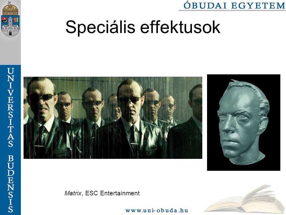 Matrix, ESC Entertainment Speciális effektusok