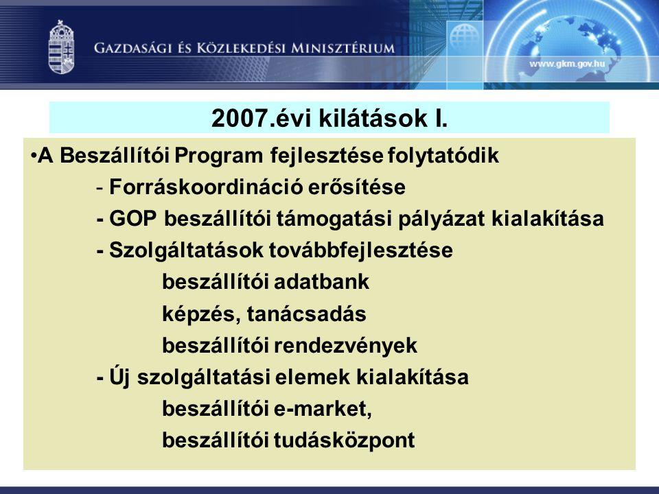 2007.évi kilátások I.