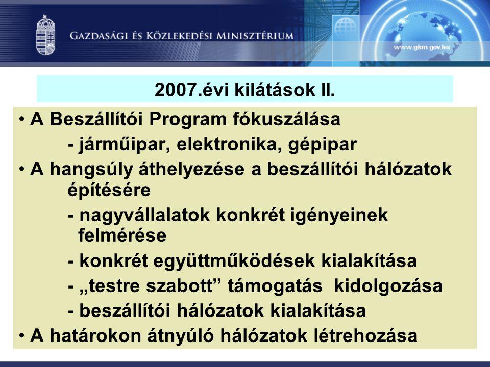 2007.évi kilátások II.