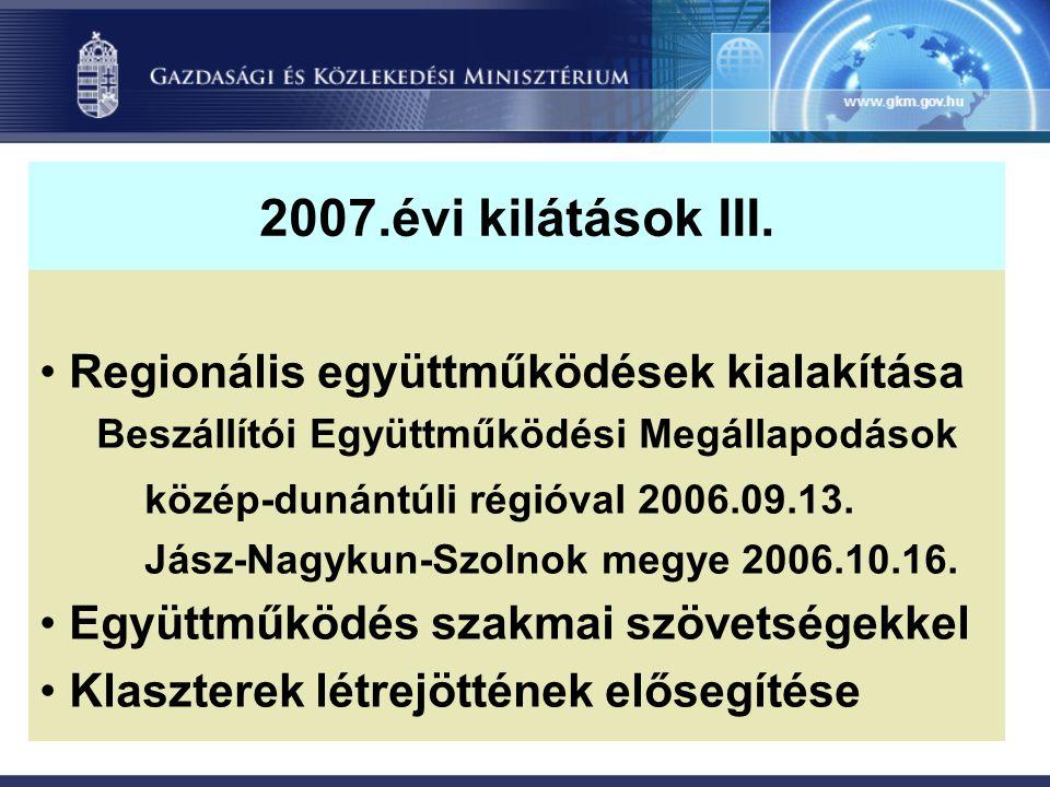 2007.évi kilátások III.