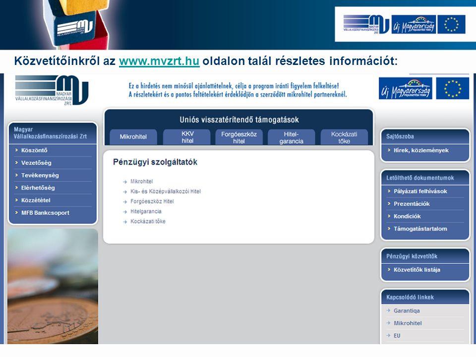 Közvetítőinkről az www.mvzrt.hu oldalon talál részletes információt:www.mvzrt.hu