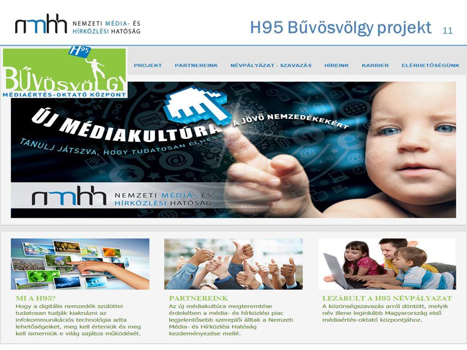 11 H95 Bűvösvölgy projekt 11 * 2011. szeptember vége óta