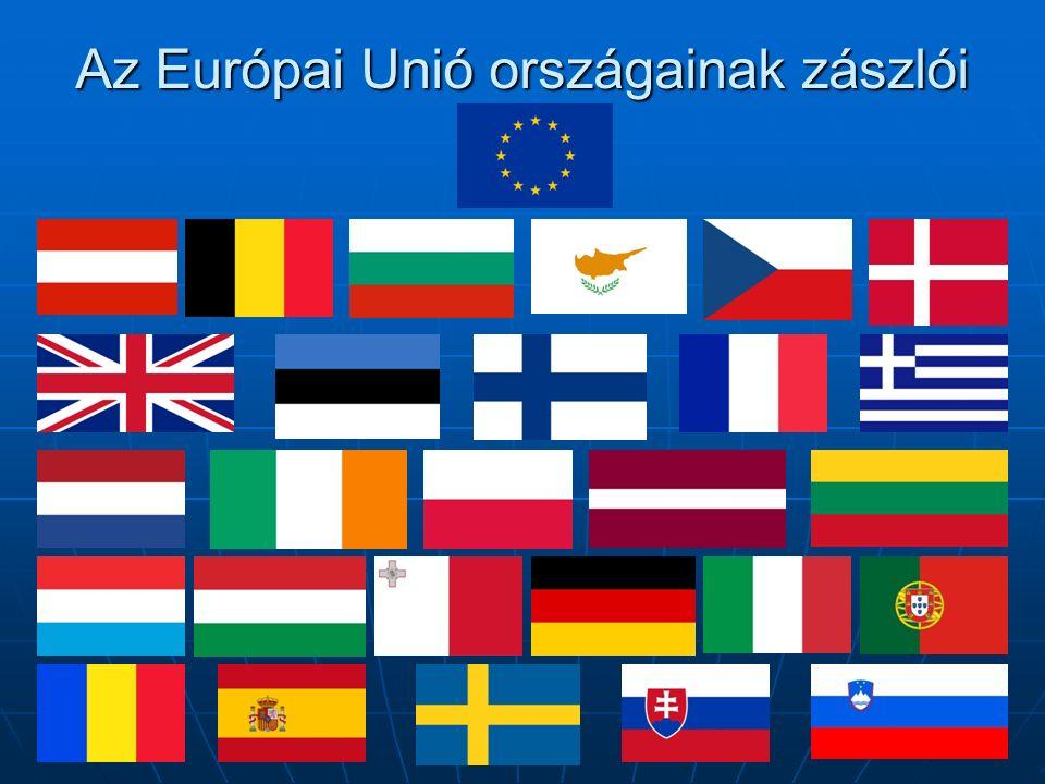 Bulgária A bolgár nemzeti zászlót, amely fehér, zöld és vörös színű vízszintes sávokból áll, 1878-ban készítették Oroszország zászlójának hatására, mivel az orosz-török háború idején az oroszok befolyása igen nagy volt.