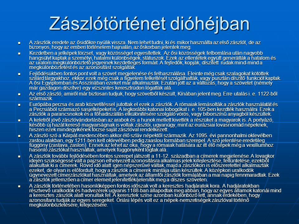 Szlovákia Szlovákia nemzeti színeit az európai forradalmak évében, 1848-ban fogadták el.