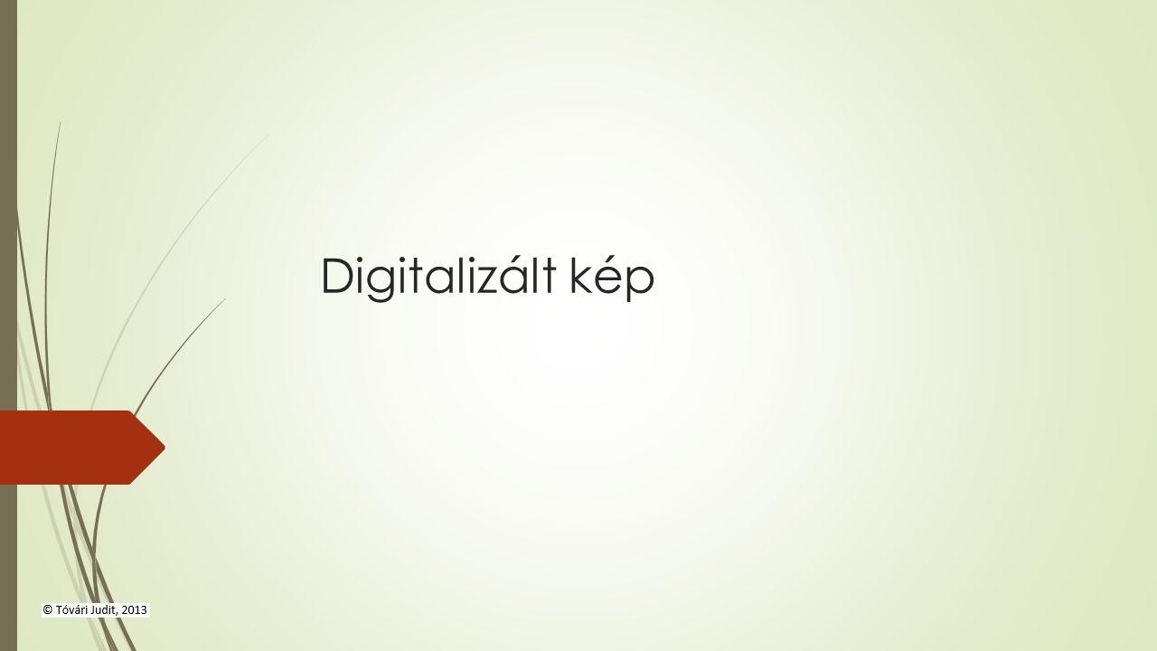 Digitalizált kép