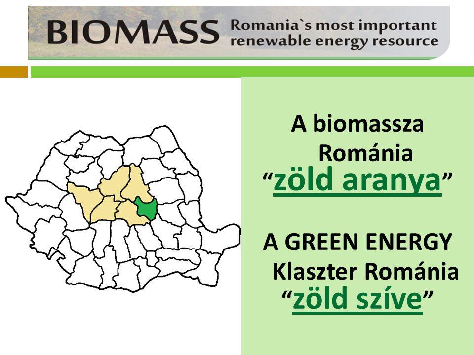 A biomassza Románia zöld aranya A GREEN ENERGY Klaszter Románia zöld szíve