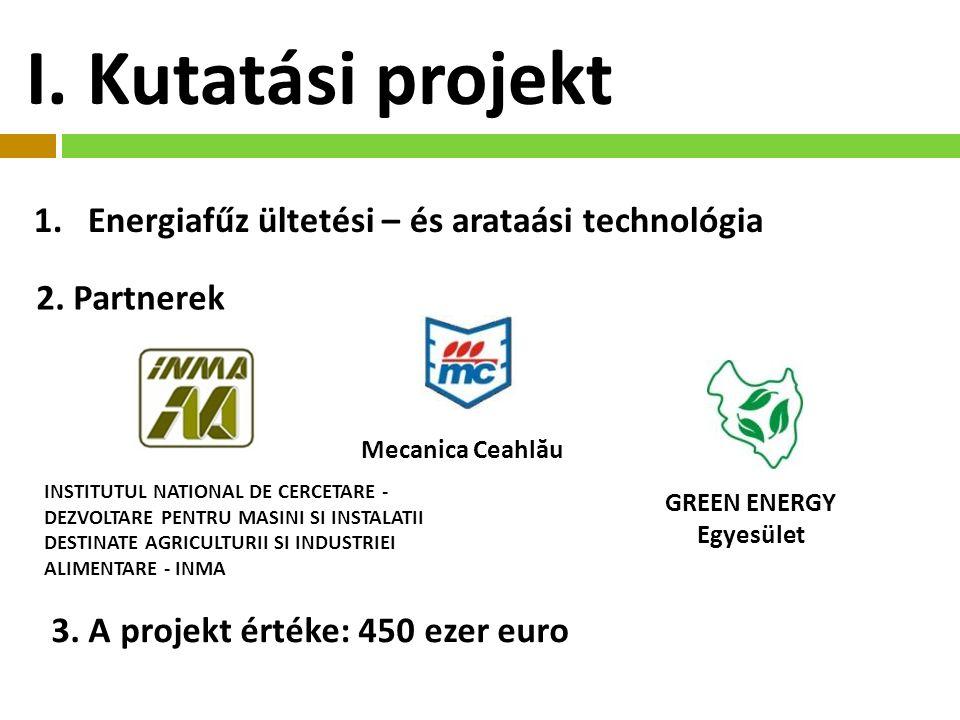 1.Energiafűz ültetési – és arataási technológia 2.