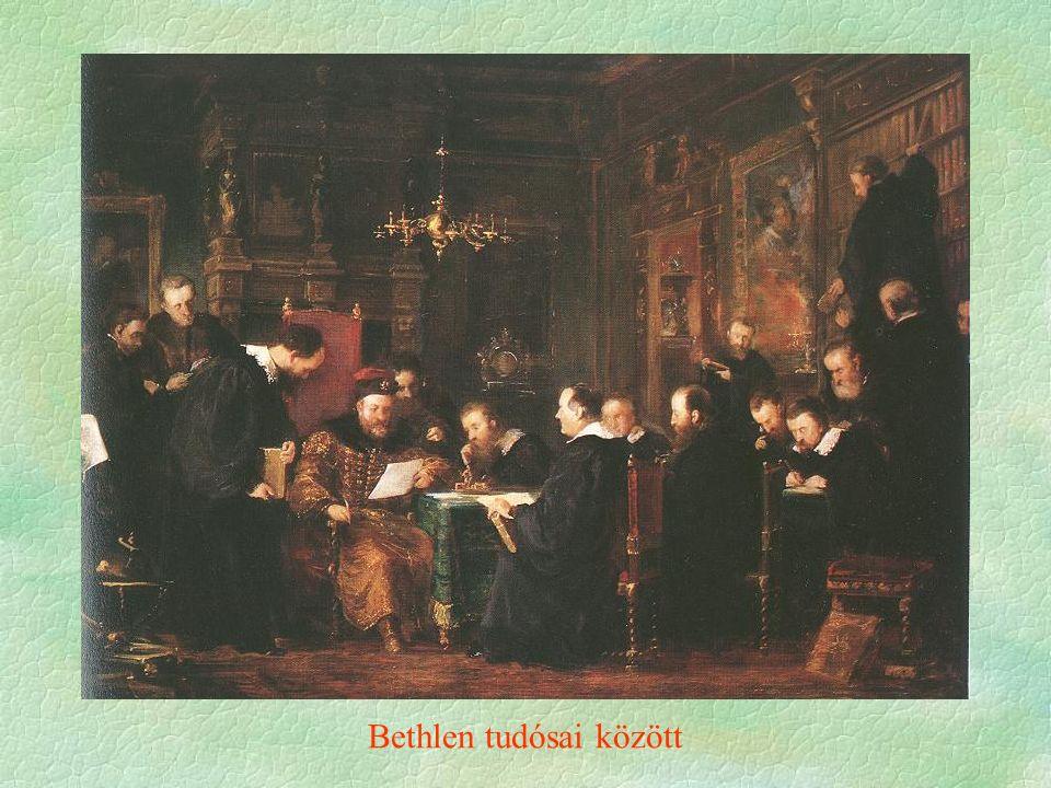Bethlen tudósai között
