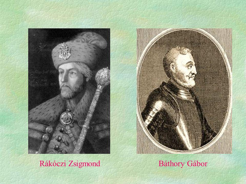Rákóczi ZsigmondBáthory Gábor