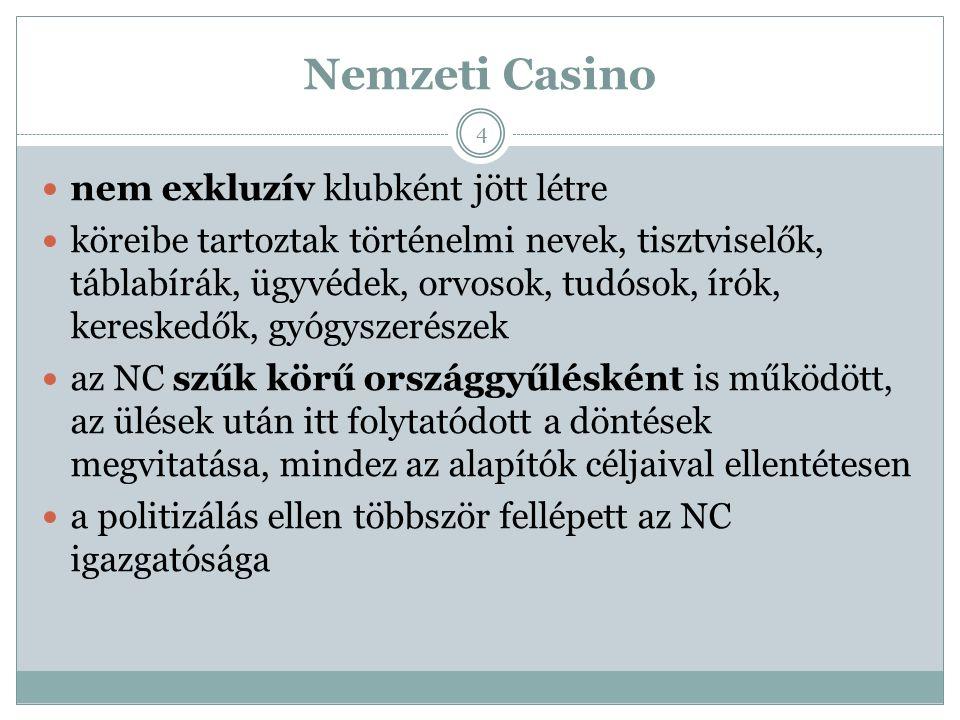 """A feloszlatás a magyar belügyminiszter a 251.044/1945.IV./14 számú rendeletével 1945-ben feloszlatta az NC-t, mint """"az ország érdekeivel ellentétes működést kifejtő jogi személy -t ekkor a főváros megkezdte az egyesület vagyonának leltárba vételét és lefoglalását, de amint az MTA tudomására jutott az eset, bejelentette igényét az örökségére, mint az alapszabályok szerinti jogutód, illetve jelezte együttműködését és támogatását a kármentés során 15"""