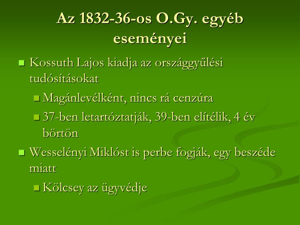 Az 1832-36-os O.Gy.