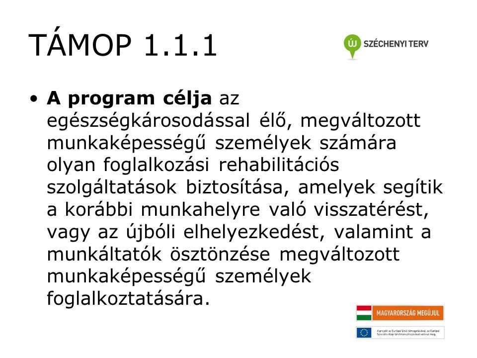 TÁMOP 1.1.1 Képzés típusok 5.