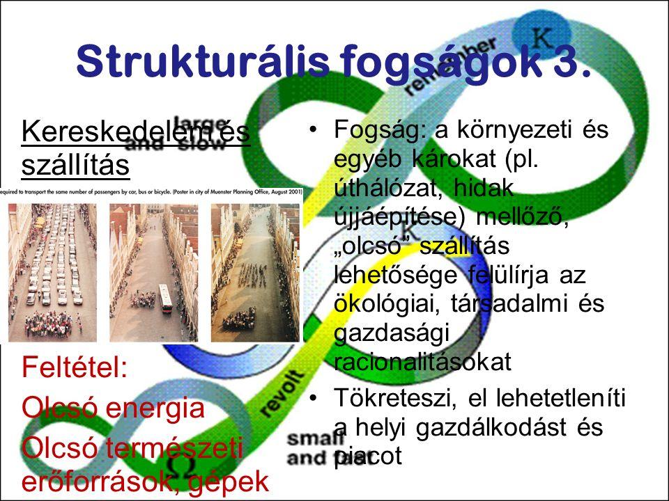 Strukturális fogságok 3.