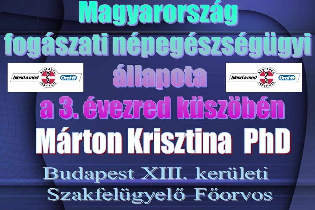 Összefoglalás Magyarország egyes orális epidemiológiai mutatók tekintetében, sajnos, európai szinten igen rossz helyzetben van, különösen a daganatos betegségek tekintetében, de a cariológiai mutatók sem érték el a globálisan kitűzött 2000-es értéket.