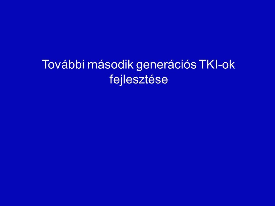 További második generációs TKI-ok fejlesztése